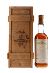 Macallan 1965 25 Year Old Anniversary Malt