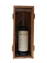 Macallan 1965 25 Year Old Anniversary Malt Bottled 1991 - Giovinetti 75cl / 43%