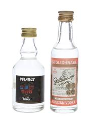 Belarus & Stolichnaya Vodka