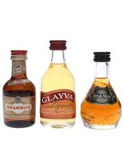 Drambuie, Glayva & Irish Mist  3 x 5cl