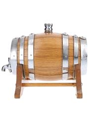 White Horse Whisky Barrel Dispenser Andrew Dewar-Durie, White Horse Distillers Ltd. 1968-1983 16.5cm x 21.5cm x 10.5cm