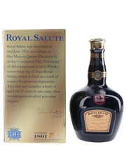 Royal Salute 21 Year Old Bottled 2006 - The Sapphire Flagon 70cl / 40%