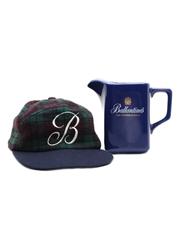 Ballantine's Basball Cap & Water Jug