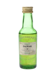 Dalmore 1963 30 Year Old Bottled 1993 - Cadenhead's 5cl / 54.5%