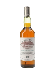 Caol Ila 20 Year Old