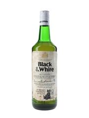 Buchanan's Black & White