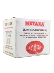 Metaxa Grand Olympian Reserve Golden Centenary 1988 6 x 70cl / 40%
