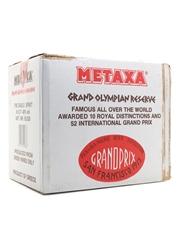 Metaxa Grand Olympian Reserve Golden Centenary 1988 6 x 70cl / 40%