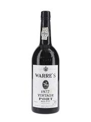 Warre's 1977 Vintage Port