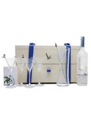 Grey Goose Martini Gift Set Bottle No. 10 Of 10