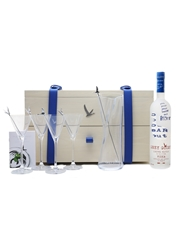 Grey Goose Martini Gift Set Bottle No.4 Of 10 Iain R Webb 70cl / 40%