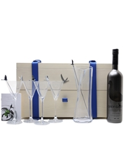Grey Goose Martini Gift Set Bottle No. 4 Of 10 Jean Pierre Braganza 70cl / 40%