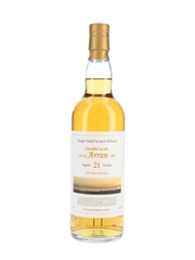 Arran 1995 21 Year Old Private Cask