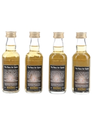 Race For Space The Whisky Connoisseur 4 x 5cl / 40%