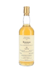 Bowmore 1964 22 Year Old