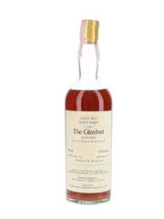 Glenlivet 1956 Bottled 1983 - Narsai's Restaurant & Corti Brothers - Signed Bottle 75cl / 46%