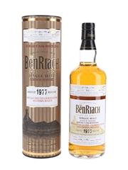 Benriach 1977 33 Year Old Bottled 2011 - Asta Morris, Belgium 70cl / 45.7%