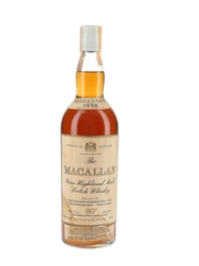 Macallan 1958 Campbell, Hope & King