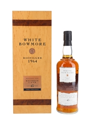 Bowmore White 1964 43 Year Old
