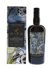 Uitvlugt 1997 Full Proof Demerara Rum Bottled 2018 - The Wild Parrot 70cl / 48.9%