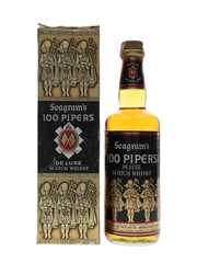 Seagram's 100 Pipers Bottled 1970s 75cl / 43%