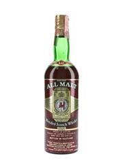 Berry Bros All Malt 12 Year Old Bottled 1970s - Soc Best 75cl / 43%