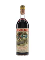 Zucca Elixir Rabarbaro Bitters