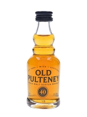 Old Pulteney 40 Year Old  5cl / 51.3%