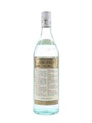 Bacardi Carta Blanca Bottled 1970s - Nassau, Bahamas 75.7cl / 40%