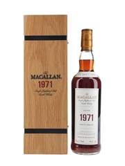 Macallan 1971 30 Year Old Fine & Rare
