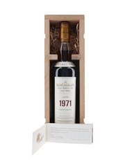Macallan 1971 30 Year Old Fine & Rare Cask No. 4280 70cl / 56.4%
