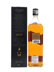 Johnnie Walker Black Label 12 Year Old Singapore & Malaysia Duty Not Paid 100cl / 40%