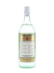 Bacardi Carta Blanca Bottled 1980s - Brazil 100cl / 40%