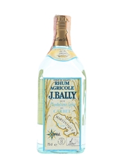 J Bally Grappe Blanche Rhum Bottled 1980s - Martinique 75cl / 50%