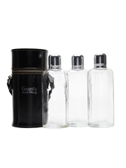 Grant's Scotch Whisky Triple Flask Hunting Set