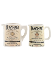 Teacher's Highland Cream Water Jugs