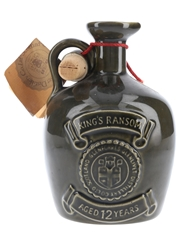 King's Ransom 12 Year Old Bottled 1970s-1980s Ceramic Decanter 75cl / 43%
