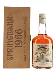 Springbank 1966 Local Barley Cask #491