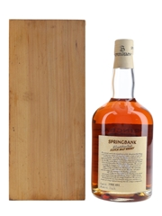 Springbank 1966 Local Barley Cask #491 Bottled 1998 70cl / 56.9%