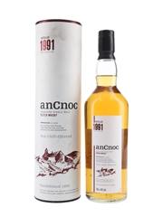 AnCnoc 1991 Bottled 2005 - Knockdhu Distillery Company 70cl / 46%