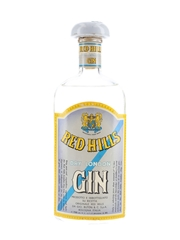 Red Hills Dry London Gin Bottled 1950s 75cl / 45%
