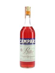 Campari Bitter Bottled 1970s-1980s 100cl / 25%