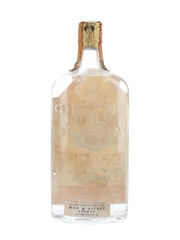 Gordon's Dry Gin Spring Cap Bottled 1950s-1960s - Wax & Vitale 75cl / 47%