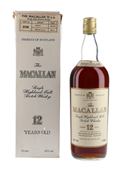 Macallan 12 Year Old