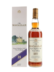 Macallan 1977 18 Year Old