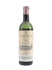 Chateau La Mission Haut Brion 1964