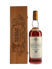 Macallan 1980 18 Year Old Gran Reserva