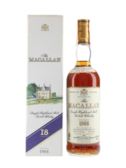 Macallan 1968 18 Year Old
