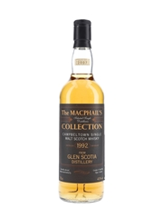 Glen Scotia 1992 Bottled 2007 - MacPhail's Collection 70cl / 43%