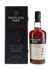 Highland Park 1980 21 Year Old